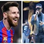 Sarkodie Mocks Manchester United & Lavishes Praises On Messi