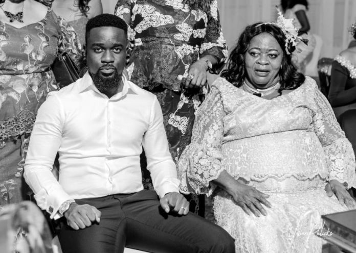 sarkodie and mummy - Sarkodie celebrates mother's 61st birthday with lovely photos and message (PHOTOS)