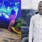 Stonebwoy's daughter gets excited after watching her dad perform on TV (VIDEO)