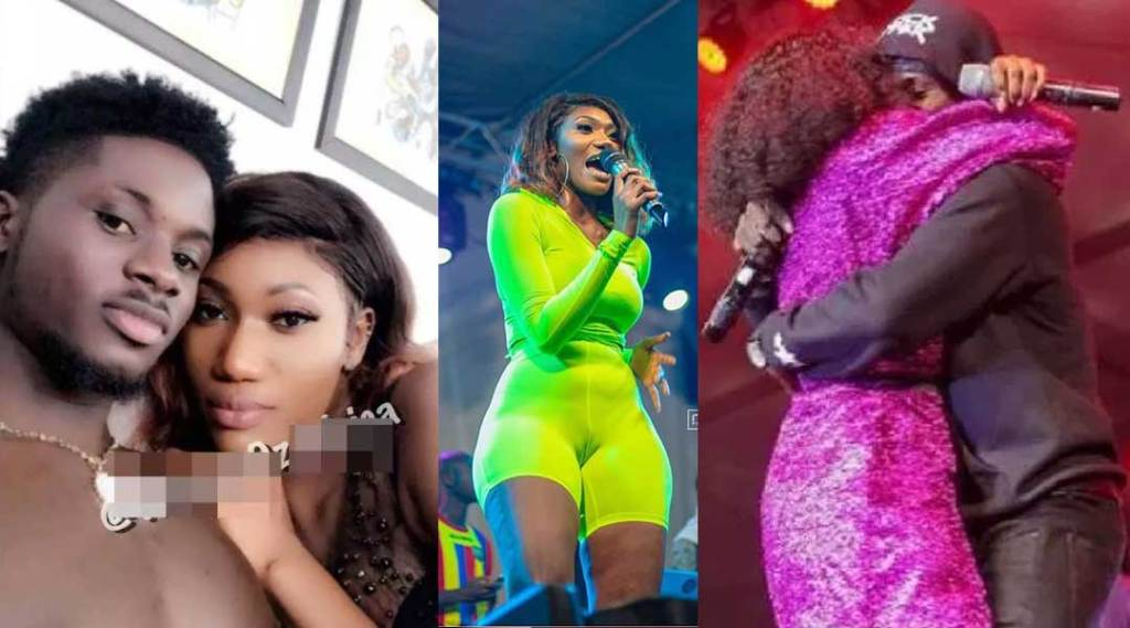 N@ked photos of Wendy Shay in bed with Kuami Eugene hit social media » GhBase•com™