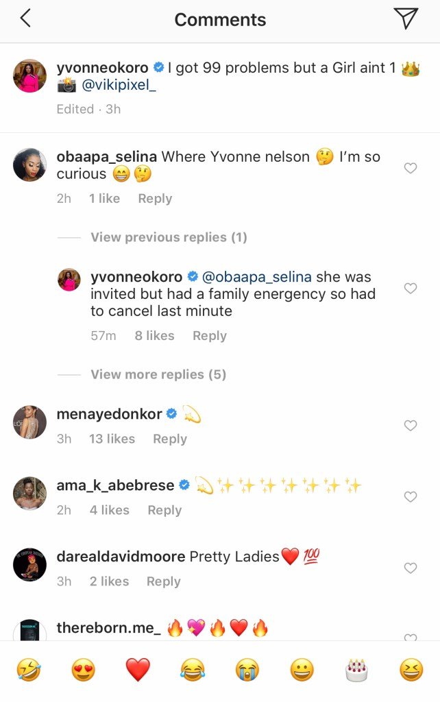 221750E2 4ADA 43D4 8BC3 A2B55A414A74 - Yvonne Nelson Did Not Attend John Dumelo's Wedding And This Is The Reason Why