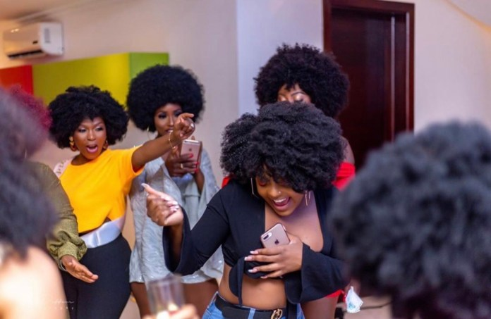 7C31AF48 D1D7 445A B7FF B8522560D3D5 - Photos From The Bridal Shower Of John Dumelo's Wife Gifty, Ahead Of Their White Wedding This Weekend