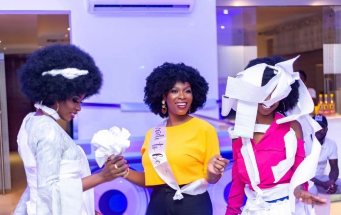 9336D54A DB55 4478 80E9 8C1076EB2D00 - Photos From The Bridal Shower Of John Dumelo's Wife Gifty, Ahead Of Their White Wedding This Weekend