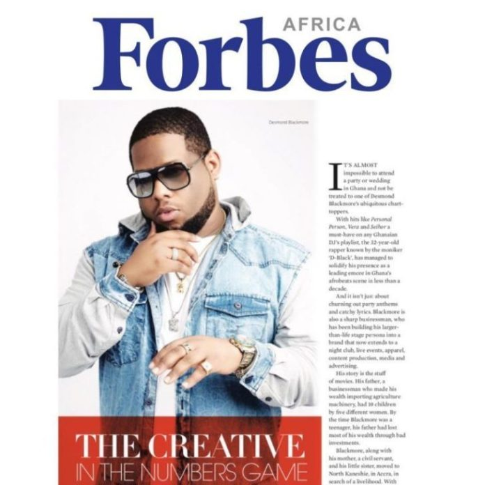 DBlack on Forbes Magazine 768x768 - D-Black Featured On Forbes Magazine- Here's What They Said About Him
