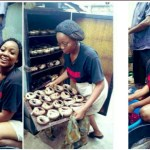 Check out the beautiful masters degree student who sells fish to foot her fees (+ Photos)