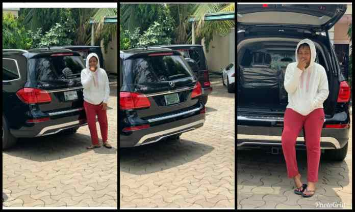 Regi - Regina Daniels Is Gifted Another Brand New Car By Mysterious Person (Screenshots)