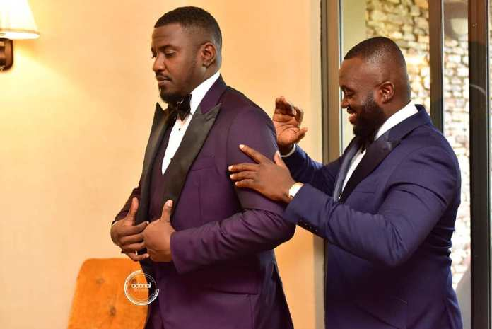 adonai studios 58468646 2343193955921307 8055537893376424474 n - Check All The Beautiful Photos From John Dumelo and Gifty's White Wedding (First Batch)