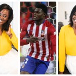 See Beautiful Photos Of Thomas Partey's Girlfriend, Giuseppina Nana Akua Baafi -Former Miss Ghana
