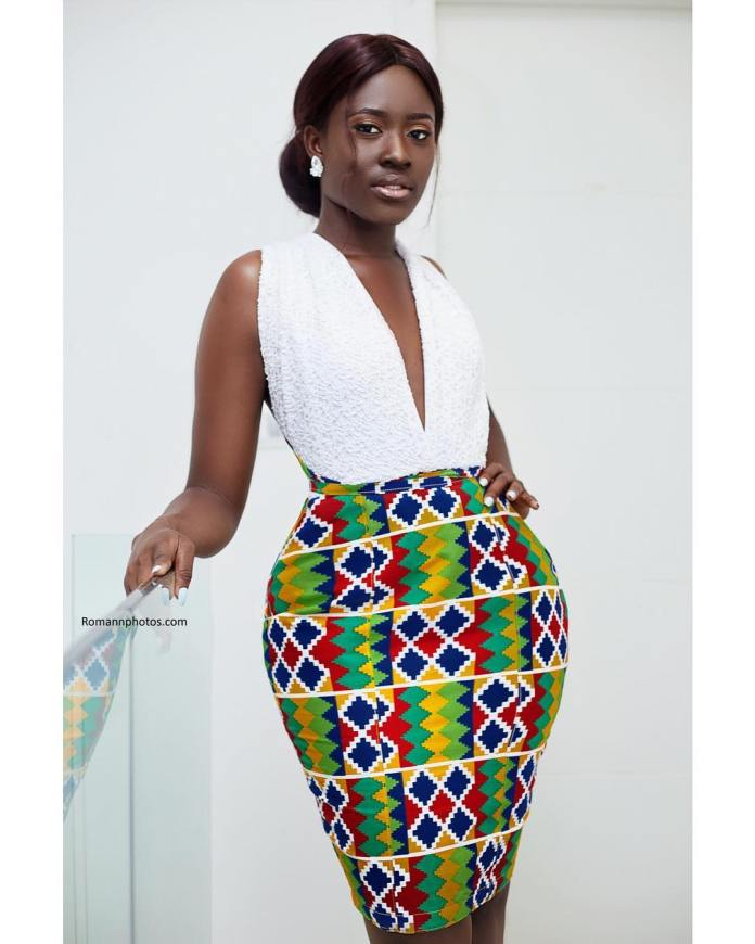 fellamakafui 57703425 144802363239281 2069423324861442009 n - Slayer Of Africa Fashion: Fella Makafui Looks Exquisite As She Rocks African Prints (Photos)