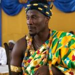 PHOTOS: Asamoah Gyan Enstooled As Chief In Hohoe In The Volta Region Of Ghana