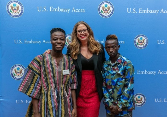 pa2pa22 - Official Handle Of US Embassy On Facebook Calls Patapaa 'Skopatomana Boss'