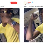 Photo: Rapper EL Flaunts Wads Of Money On Social Media