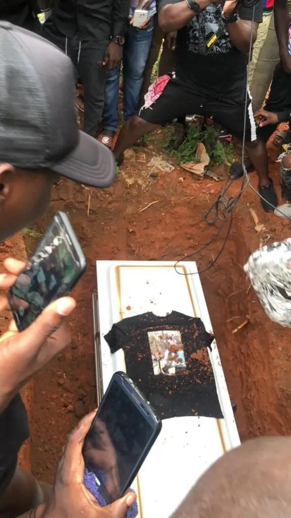 Junior Us now buried
