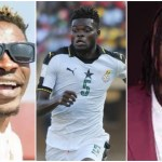 Ghanaian Footballer, Thomas Partey 'Begs' Shatta Wale, Stonebwoy To Compose A Song For The Black Stars