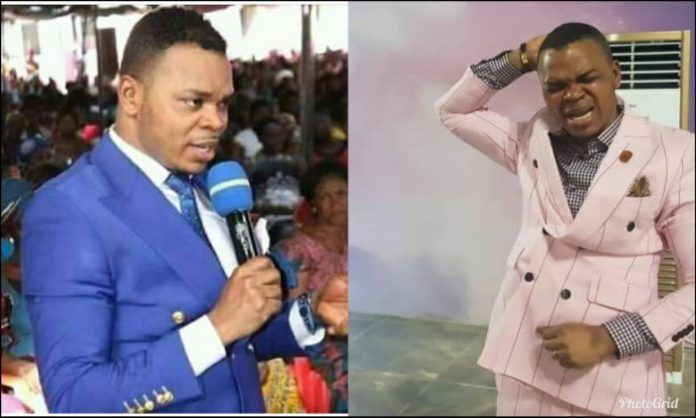PhotoGrid 1563362145609 e1563362807718 - Bishop Obinim's 12year old son gives prophecy to congregation- (Video)