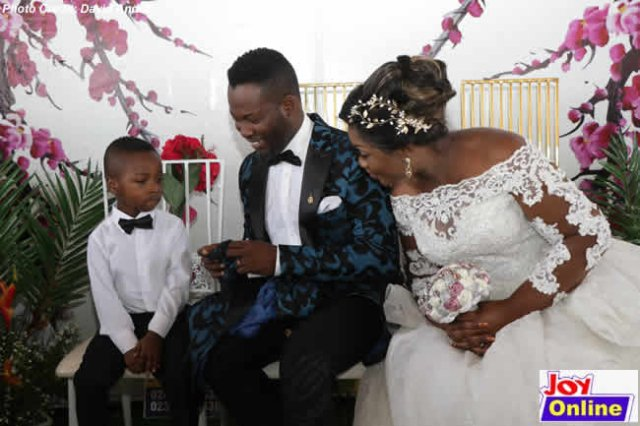 Adjetey Anang & His Wife Of 12 Years Renew Wedding Vows (Photos) 3