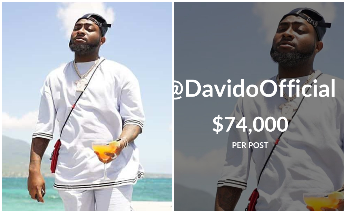 Top Instagram Earners 2019: Davido, Wizkid Others Make List » GhBase