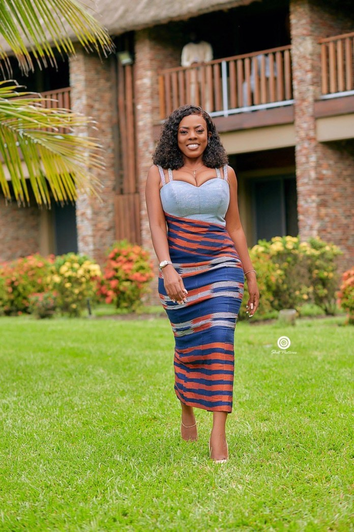 Photos: Nana Aba Anamoah Turns Heads With Her Infectious Smile & Big Melons 2