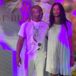 Watch Abedi Pele 'Kill' The Zanku Dance At Wife's Plush Birthday Party
