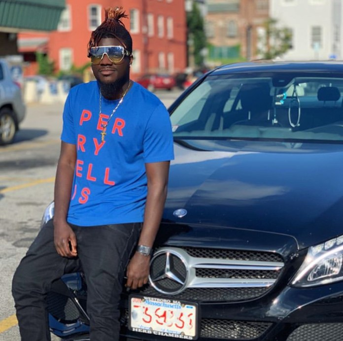 No Shatta Wale, No Problem- Pope Skinny Flaunts His Brand New Mercedes Benz (+Photo) 2