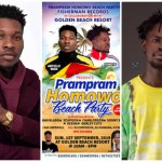 Fameye, Article Wan, Others Storm Prampram For Homowo Beach Party Today-September 1