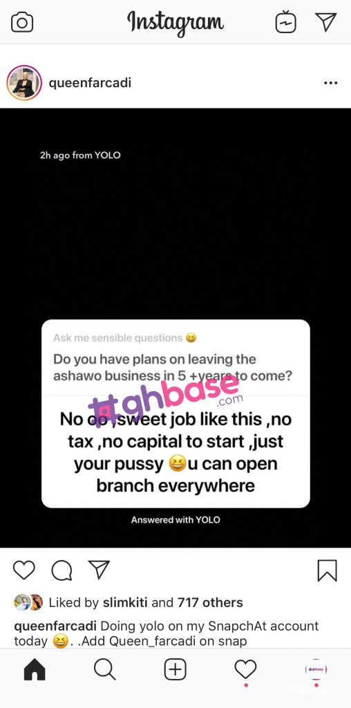 Am Not Stopping The Prostitution Business Anytime Soon and this why-'Ashawo' Boss 2