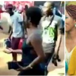 A fast rising slay queen mocked and shamed publicly after stepping out in bareback dress (+ video