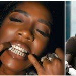 Check out Tiwa Savage looking gangster in her new customised diamond encrusted grills worth millions (+ photo