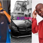 King Promise Flaunts His Brand New Mercedes Benz On Social Media(+Photo)