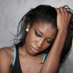 All guys who come my way are broke – Lady broke down in tears