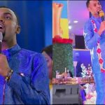 Checkout The Dramatic Moment Rev. Obofour Healed A Woman Of Breast Cancer(+Video)