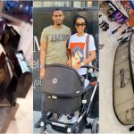 Ibrah One And His Beautiful Wife Spotted Shopping In One Of Dubai's Most Expensive Retail Shops Worth Thousands Of Dollars(+Video)