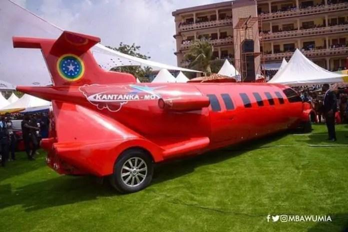 Kantanka Unveils New Aeroplane Vehicle At Kristo Asafo 39th Exhibition (+Video)