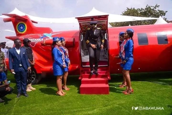 "FB IMG 1577692145812 - A Splendid Look Inside Kantanka's 40ft ""Car Aeroplane"" He Launched[Video]"