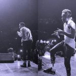 Shatta Wale carries Kofi Kinaata on his shoulders whiles performing together at Made In Taadi Concert