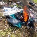 Nigeria Lady Burns Wigs, Trousers & Makeup Kits After Becoming Born Again