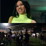 Exclusive: First Video Of Cardi B's Event At Accra Sports Stadium