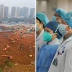 China Building Hospitals In 6-Days To Contain Coronavirus