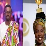 NAM1 ignores bleeding Menzgold customers to congratulate Angélique Kidjo