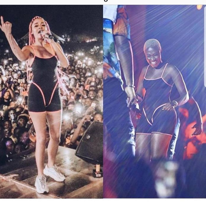 Photos that prove Fella Makafui copies Sister Derby's lifestyle