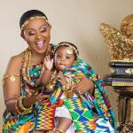 Nana Ama McBrown shows the face of Baby Maxin To Mark Her 1st Birthday