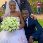 Wedding photos of Karen Jacqueline, the Legon girl who slapped cheating boyfriend with 'Chalewote' pops up