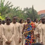 Check out these photos of Dr Osei Kwame Despite's son and his Groomsmen
