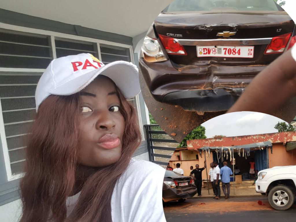 Actress Patricia Osei Boateng survives car accident