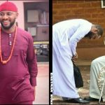 Whether You Lie Or Kneel Down To Propose To A Woman, If She Wants To Stay She Will – Yul Edochie Replies His Father