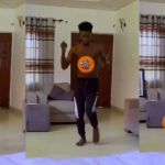 Kuami Eugene Could Have Been A Footballer, Watch How He Exhibits His Smooth Football Skills – VIDEO