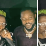 Shatta Wale Reunites With Ponobiom After 'GbeeNabu' & Tells Fans Not To Take 'Beefs' Personal (+Video)