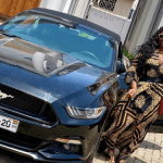 Photo: Salma Mumin Poses Hot With Her New Ford Mustang
