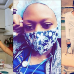 Tonto Dikeh Celebrates The Nurse Who Saved Her Son's Life During Delivery