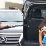 Nigerian Actress Uche Elendu Puts Her Expensive Lexus SUV On Display- Photos